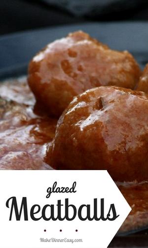 glazed meatball recipe