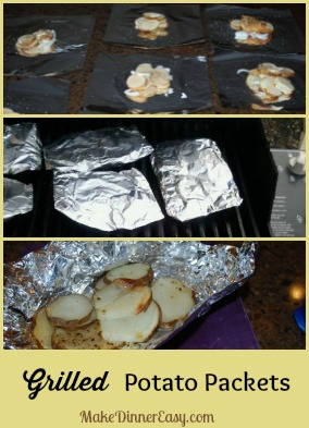 how to make potato packets