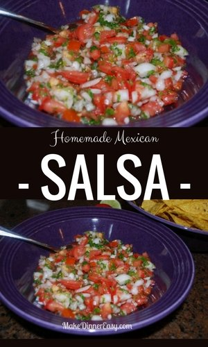 homemade mexican salsa