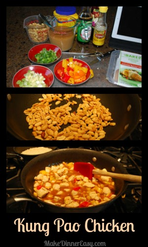 directions for making kung pao chicken