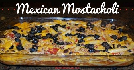 Mexican mostacholi recipe
