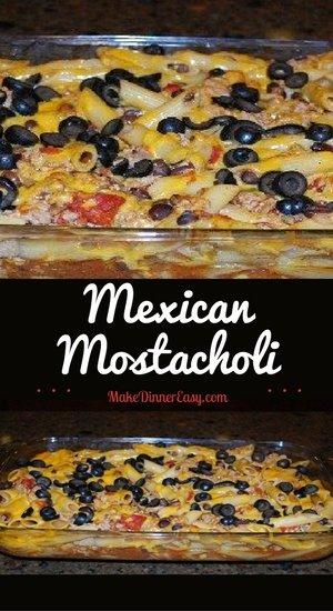 Mexican mostacholi recipe