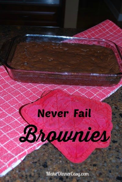 never fail brownie recipe