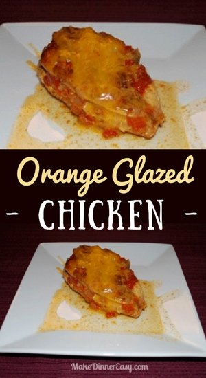 orange glazed chicken recipe