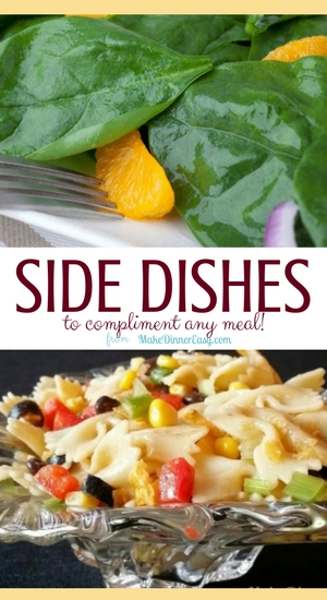 Easy side dish recipes.