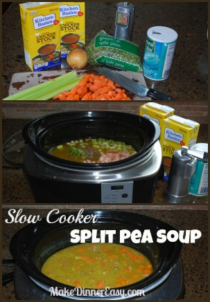 how to make split pea soup