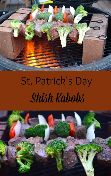 st patrick's day shish kabobs