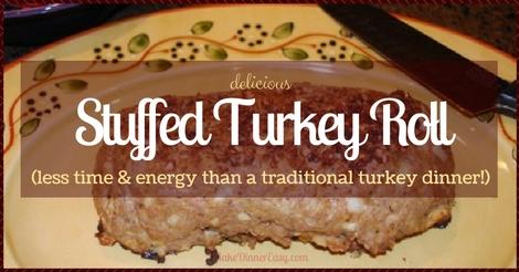 stuffed turkey roll recipe